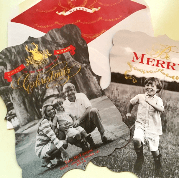 Custom Holiday Cards on the blog