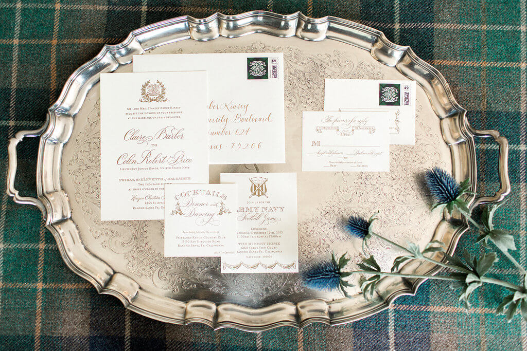 Tartan Plaid Wedding
