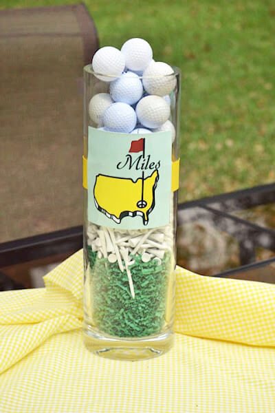 Master S Golf Birthday Party ⋆ Nico Amp Lala