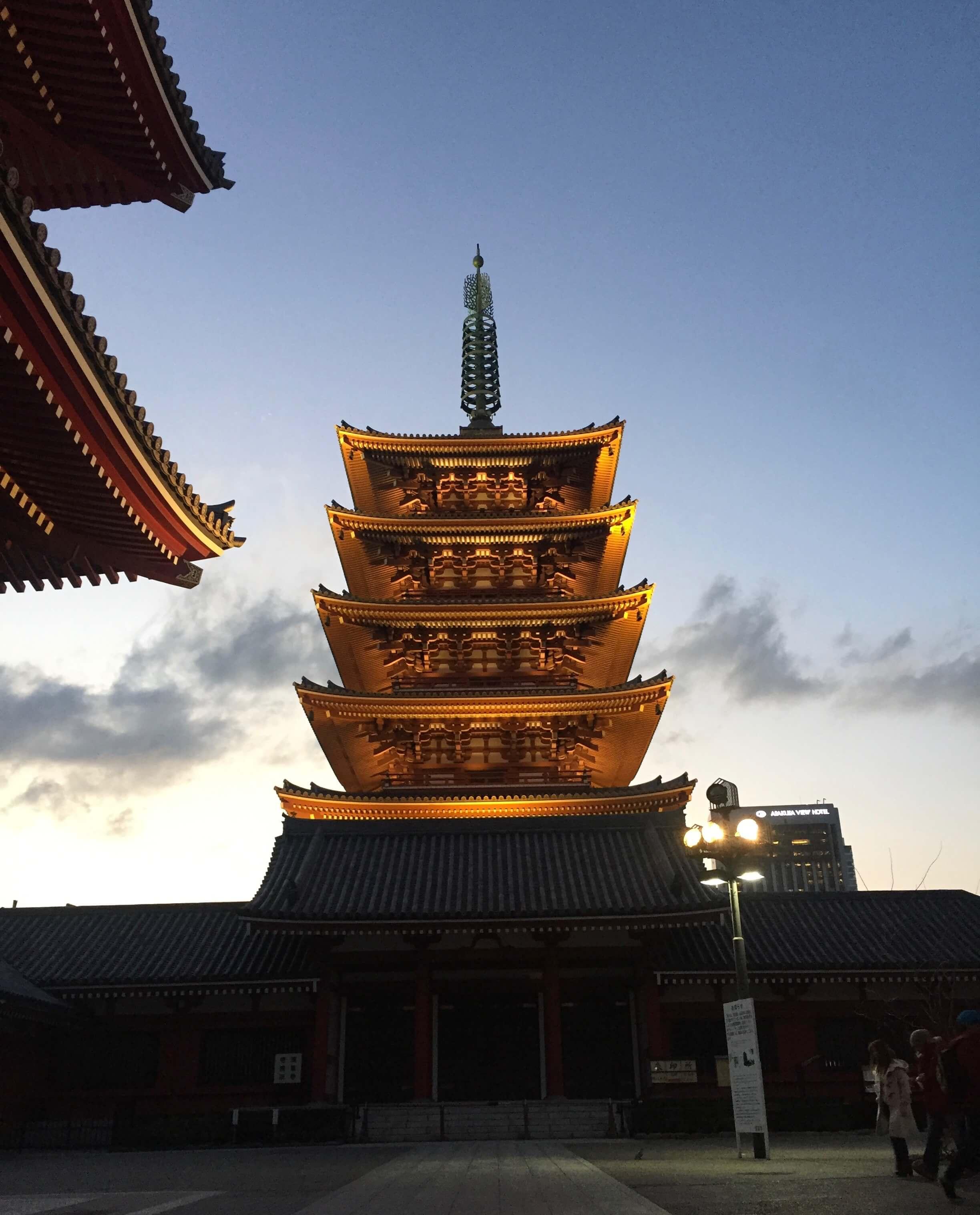 Tokyo-Temple