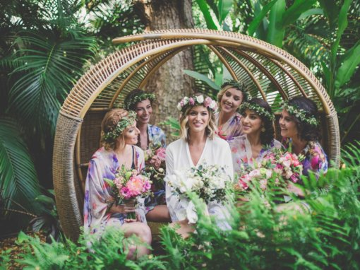 Boho Chic Hawaiian Wedding