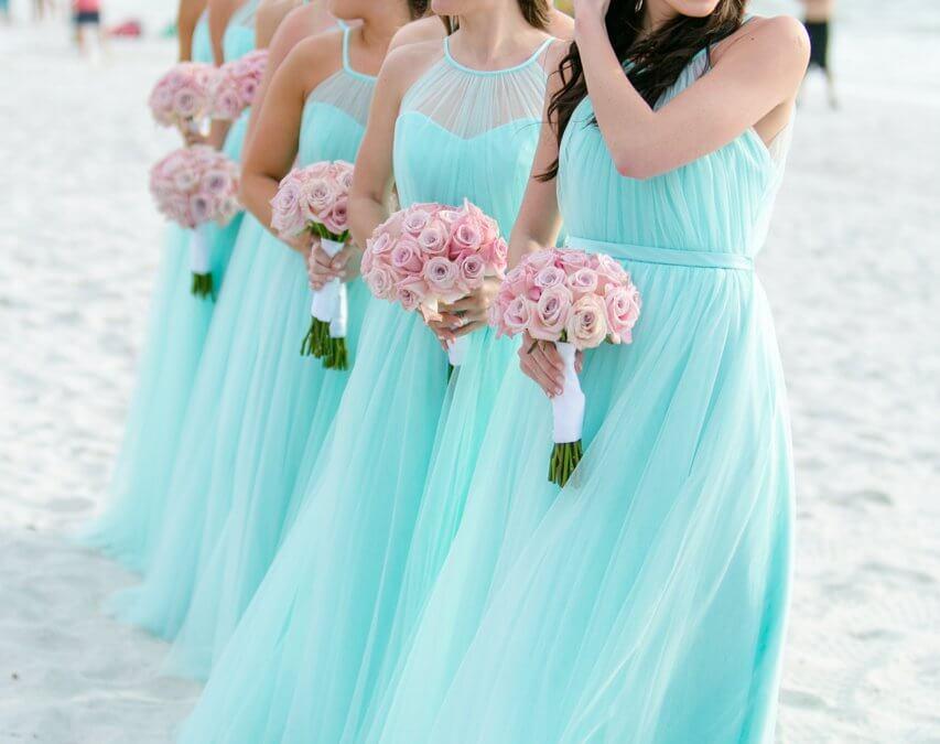 Bright Beachy Naples Wedding