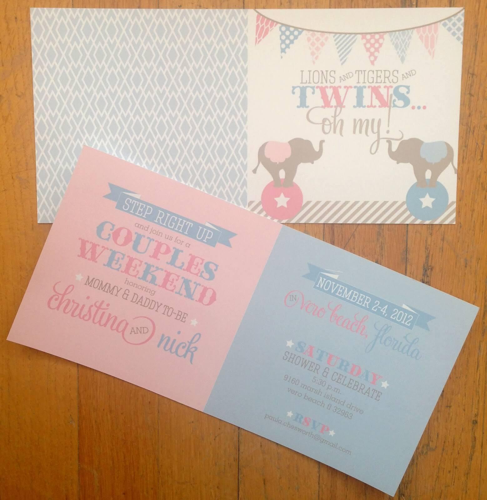 Circus-Baby-Shower-Invitation ⋆ Nico and Lala