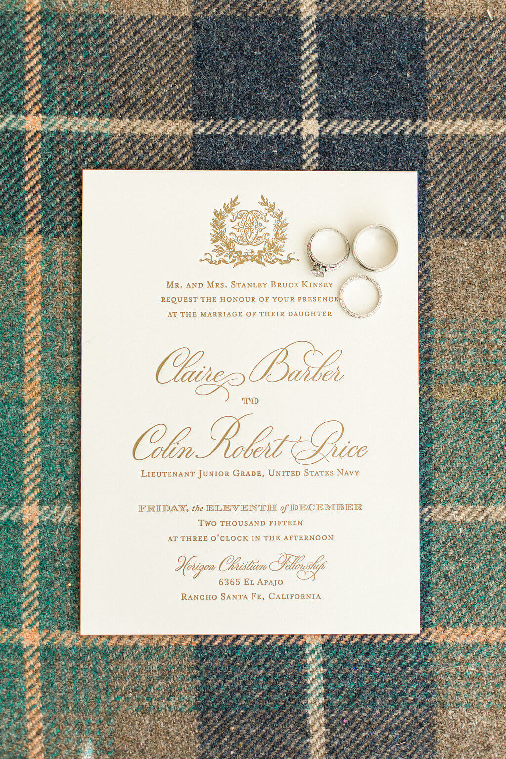 Tartan Plaid Wedding ⋆ Nico and Lala