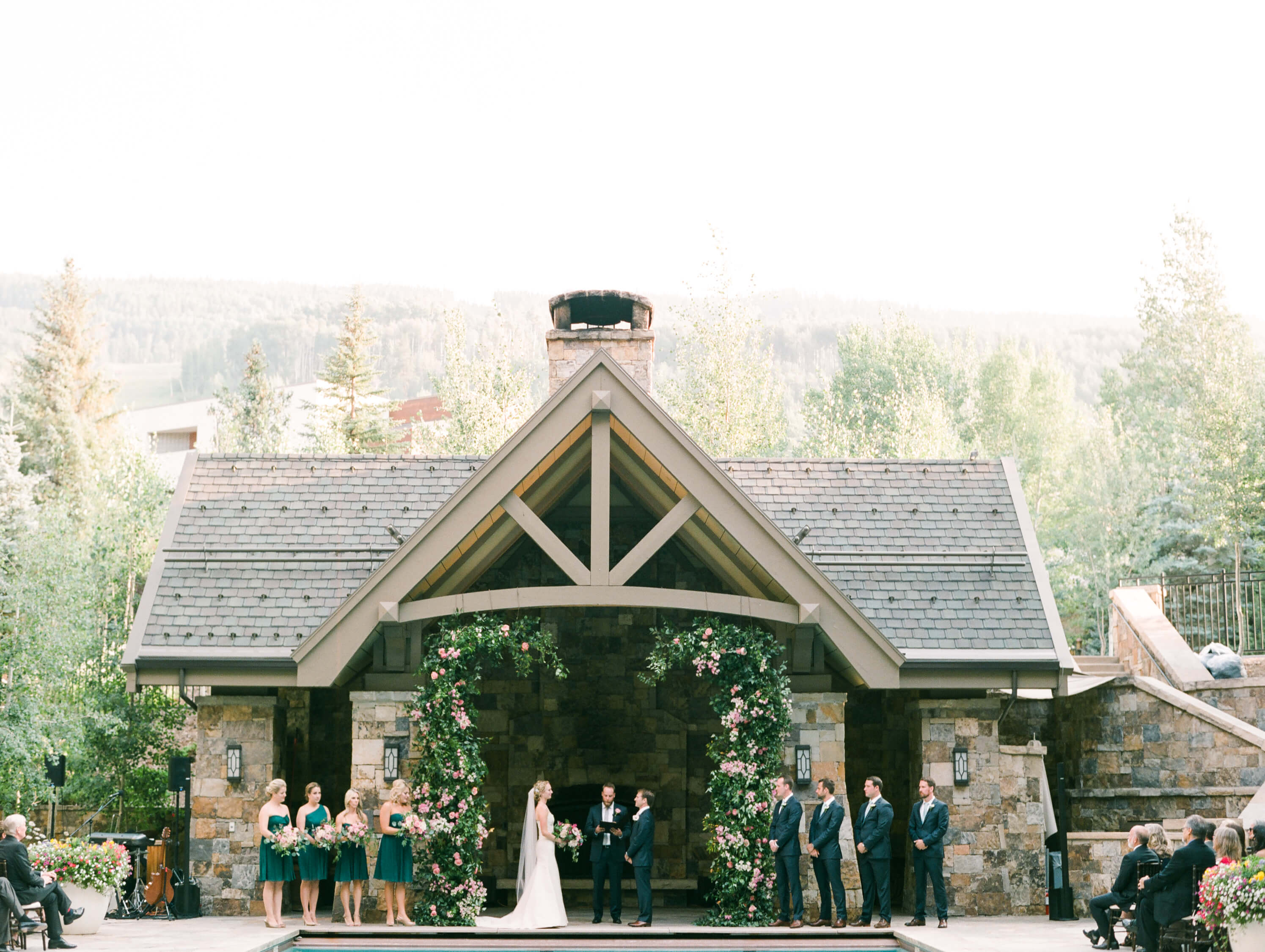 The Town Of Vail Is So Quaint And Lovely Especially During Summer Months This Wedding Could Not Be More Gorgeous