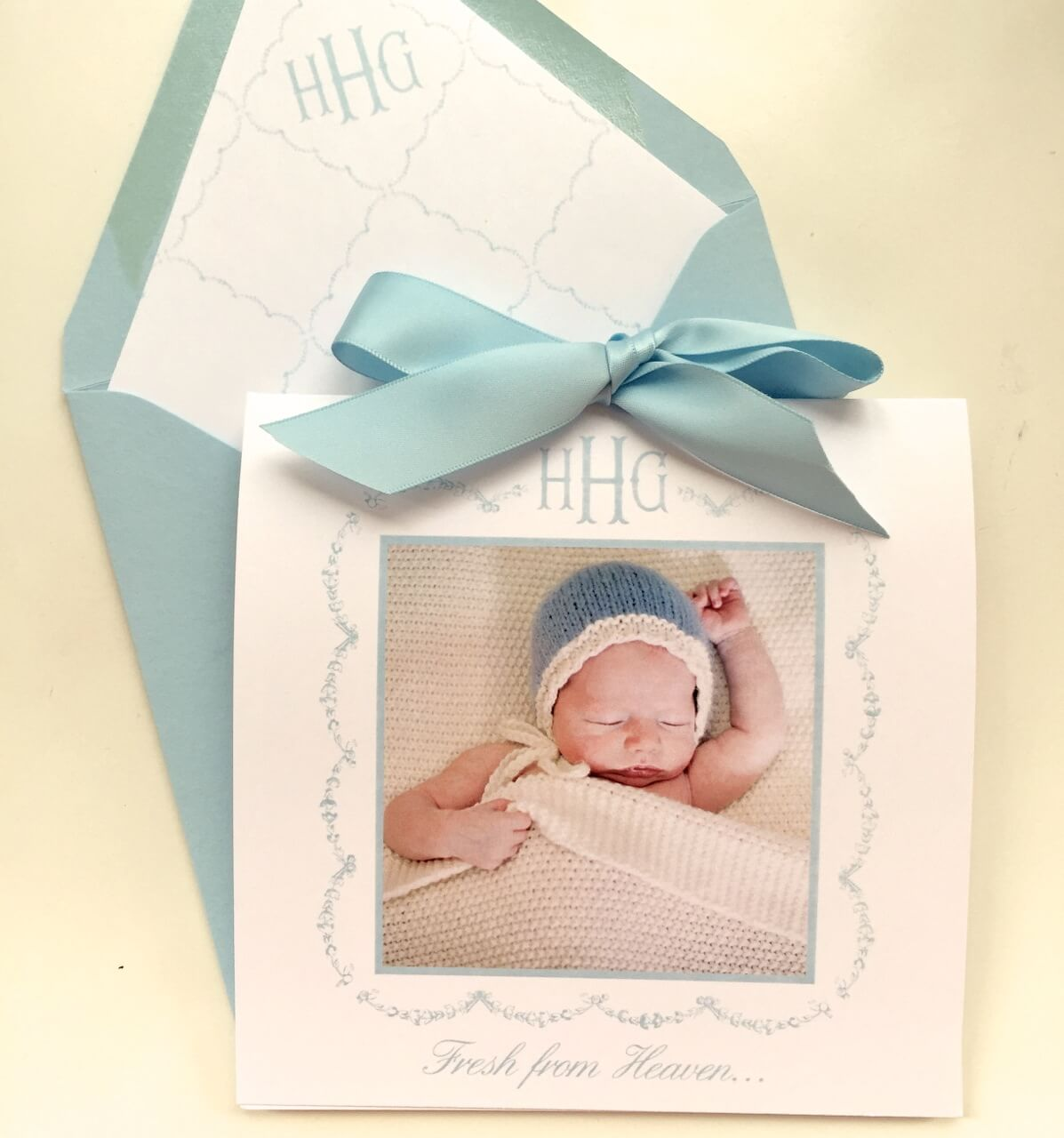 Birth Announcements Nico and Lala – Custom Baby Announcements