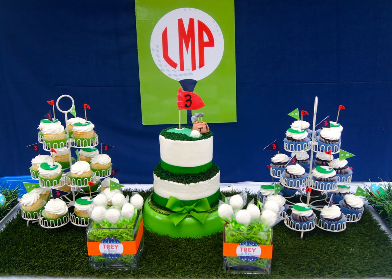 Awesome Golf Themed Birthday Nico And Lala Home Interior And Landscaping Pimpapssignezvosmurscom