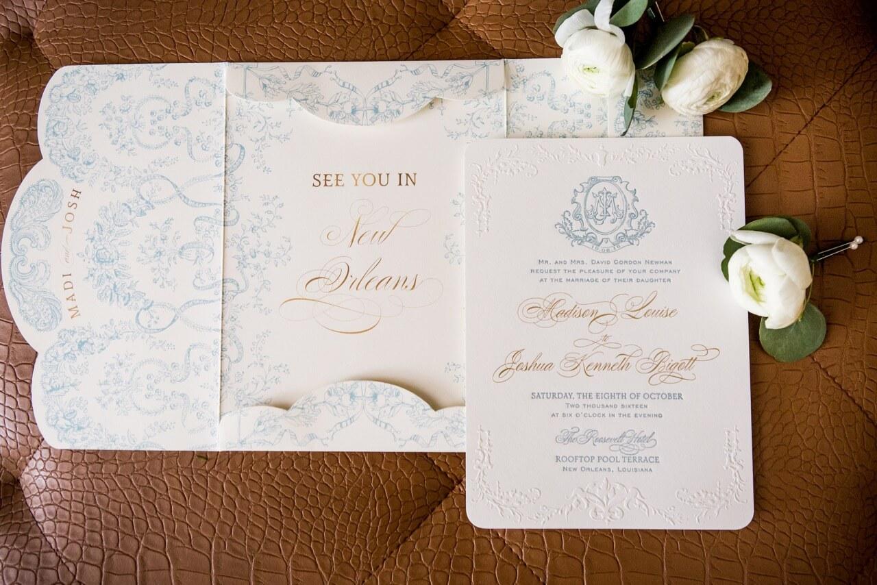French Blue Feminine Wedding ⋆ Nico and Lala