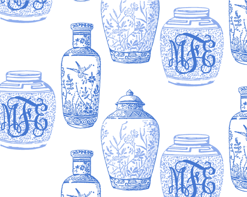 Ginger Jar Wrapping Paper