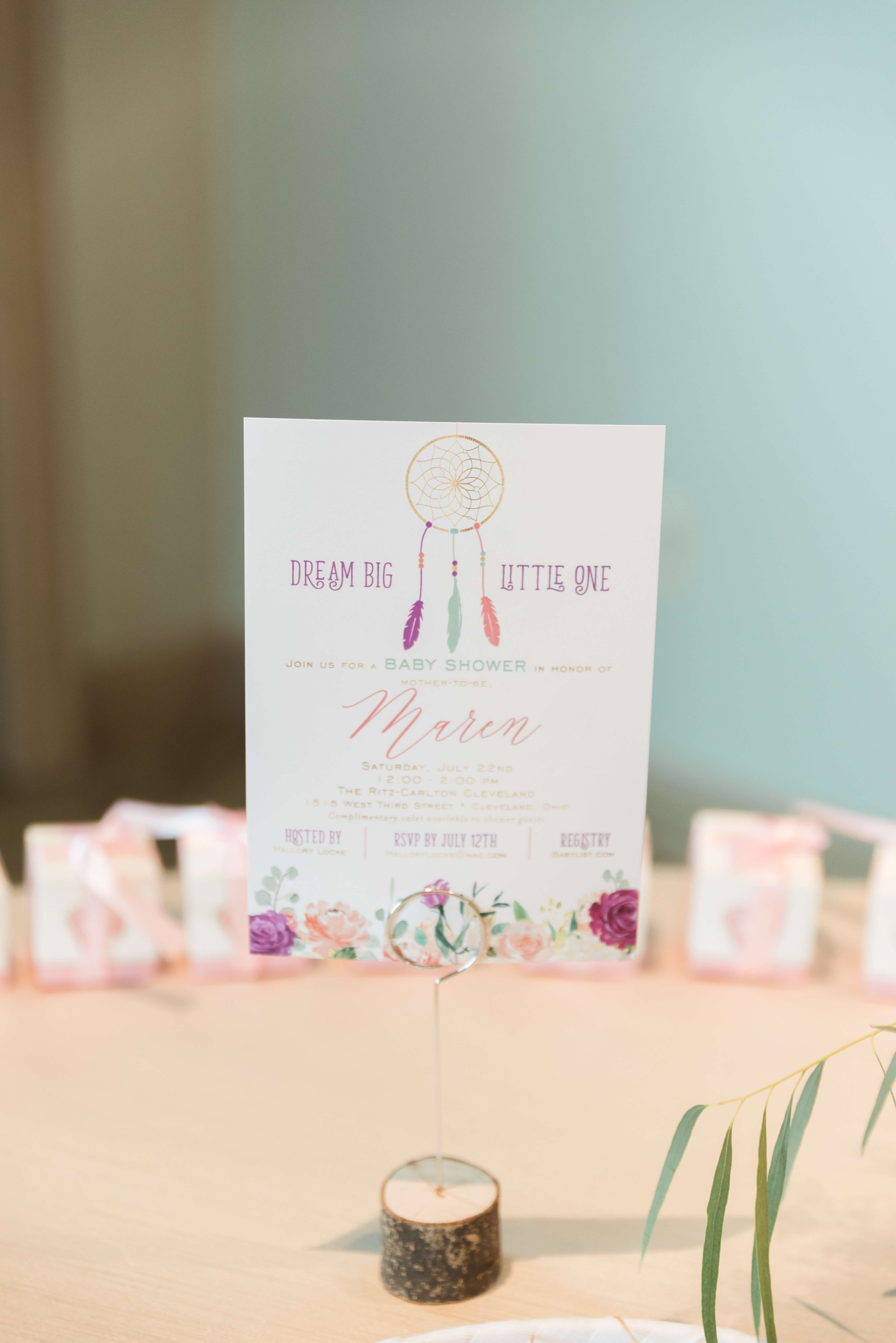 Dreamcatcher Baby Shower ⋆ Nico and Lala