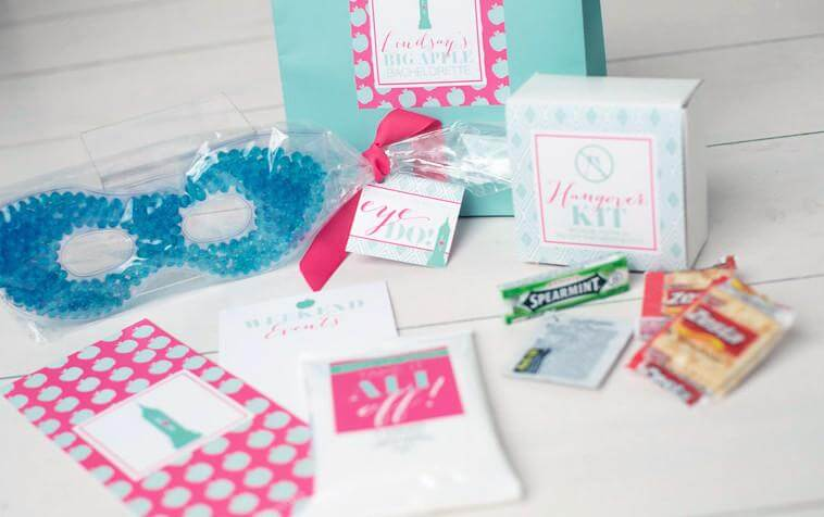 New York City Bachelorette Hangover Kits