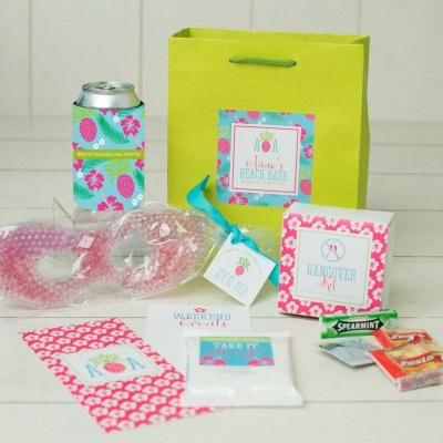 pineapple bachelorette bags