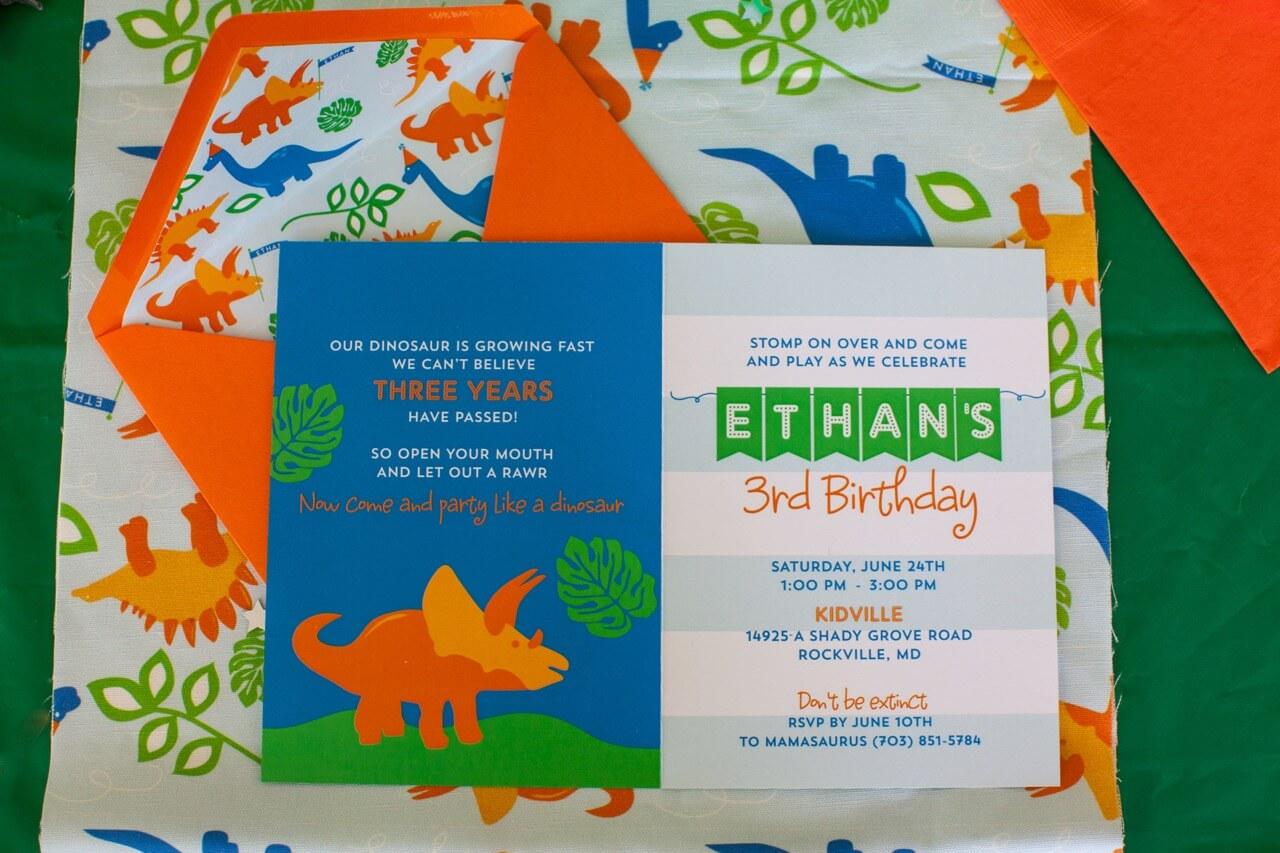 dinosaur-birthday-invitations (1) ⋆ Nico and Lala