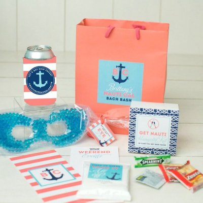 nautical bachelorette bags