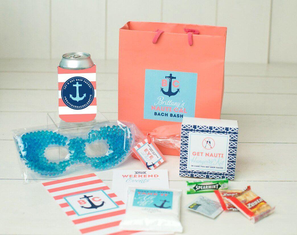 nautical bachelorette bags