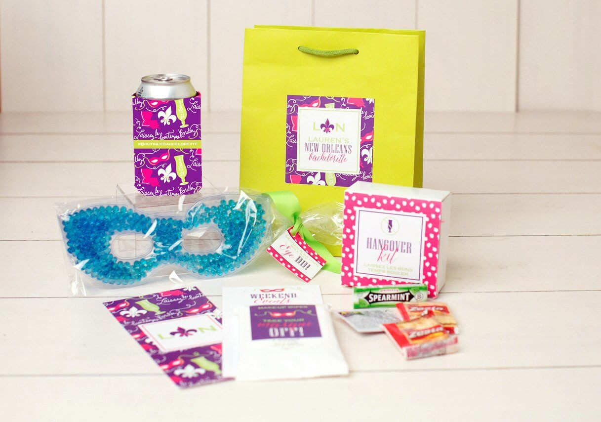 New Orleans Bachelorette Bags Nico And Lala Party Goo Bag Ideas