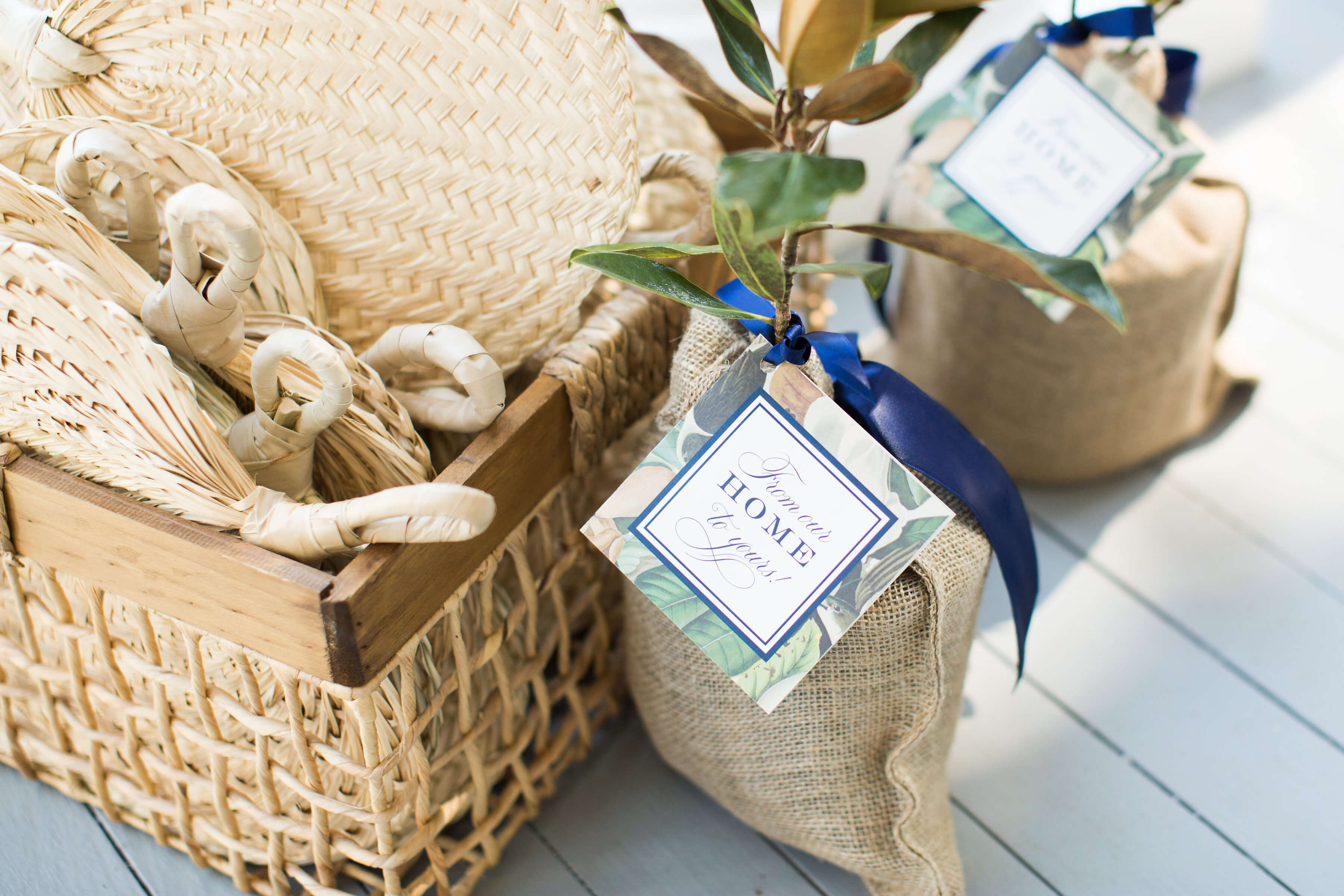 wedding favor trees
