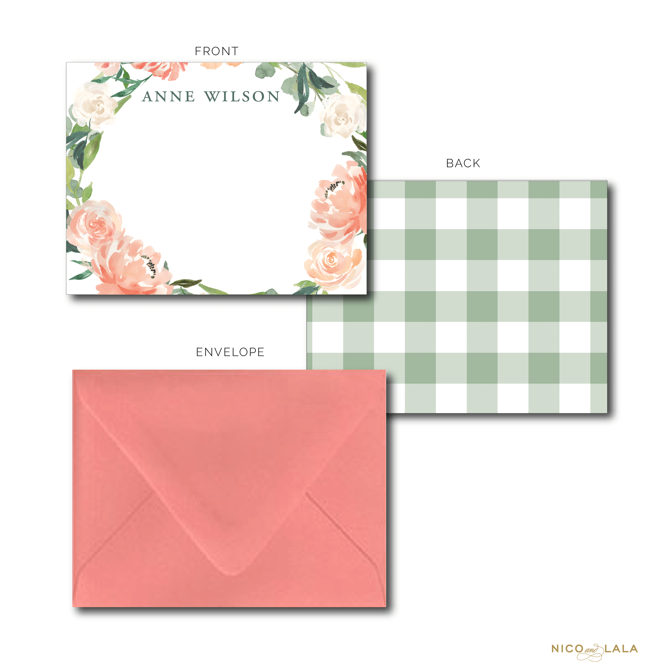 Garden Party Stationery