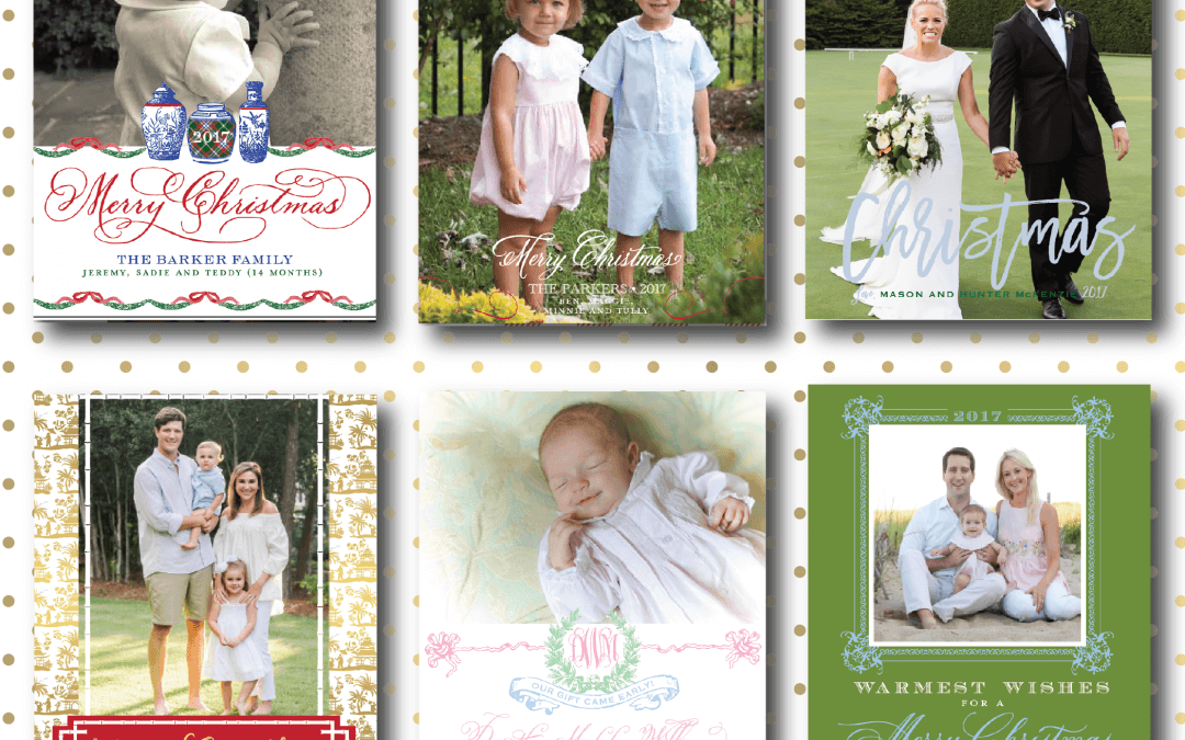 Preset Christmas Cards are here!