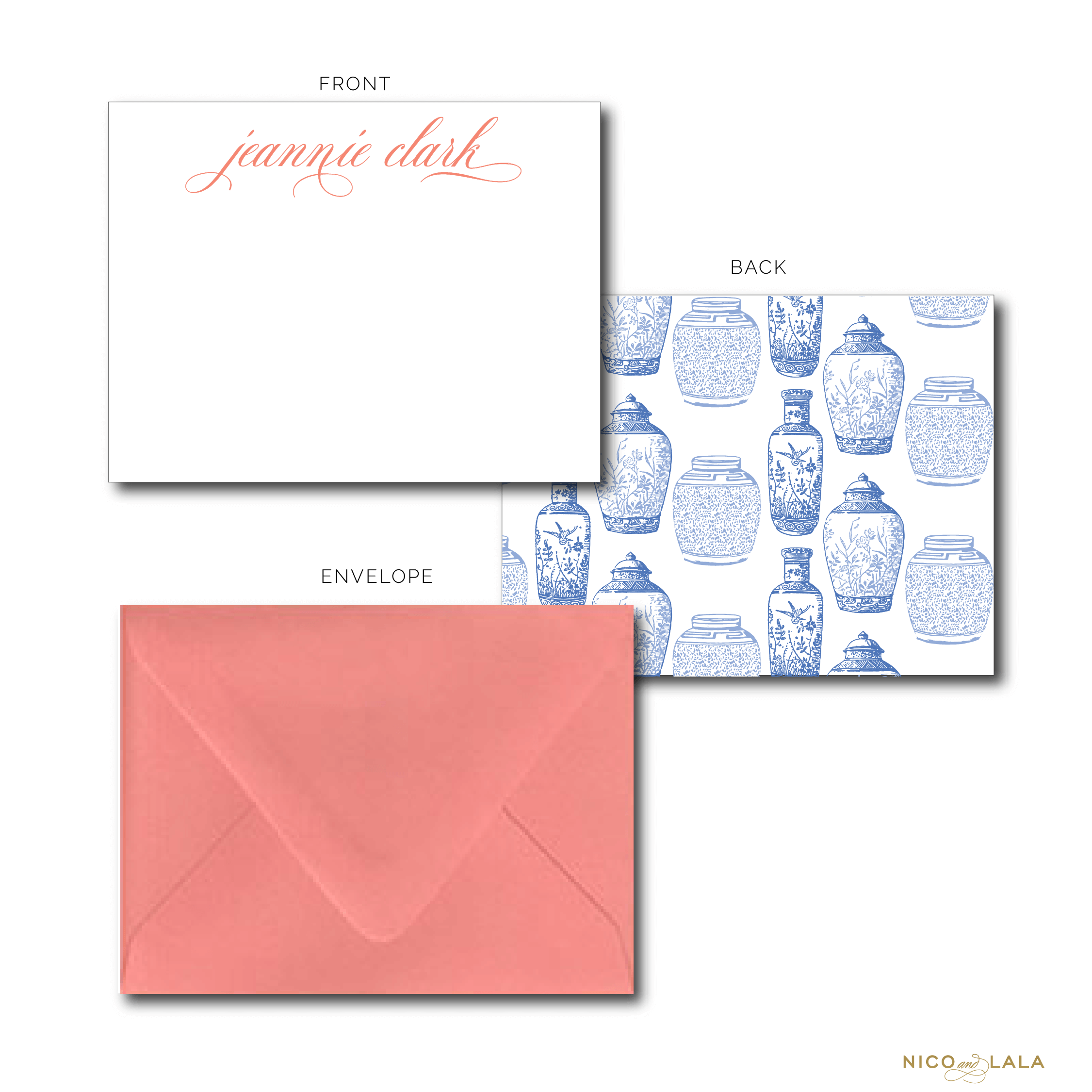 Ginger Jar Stationery