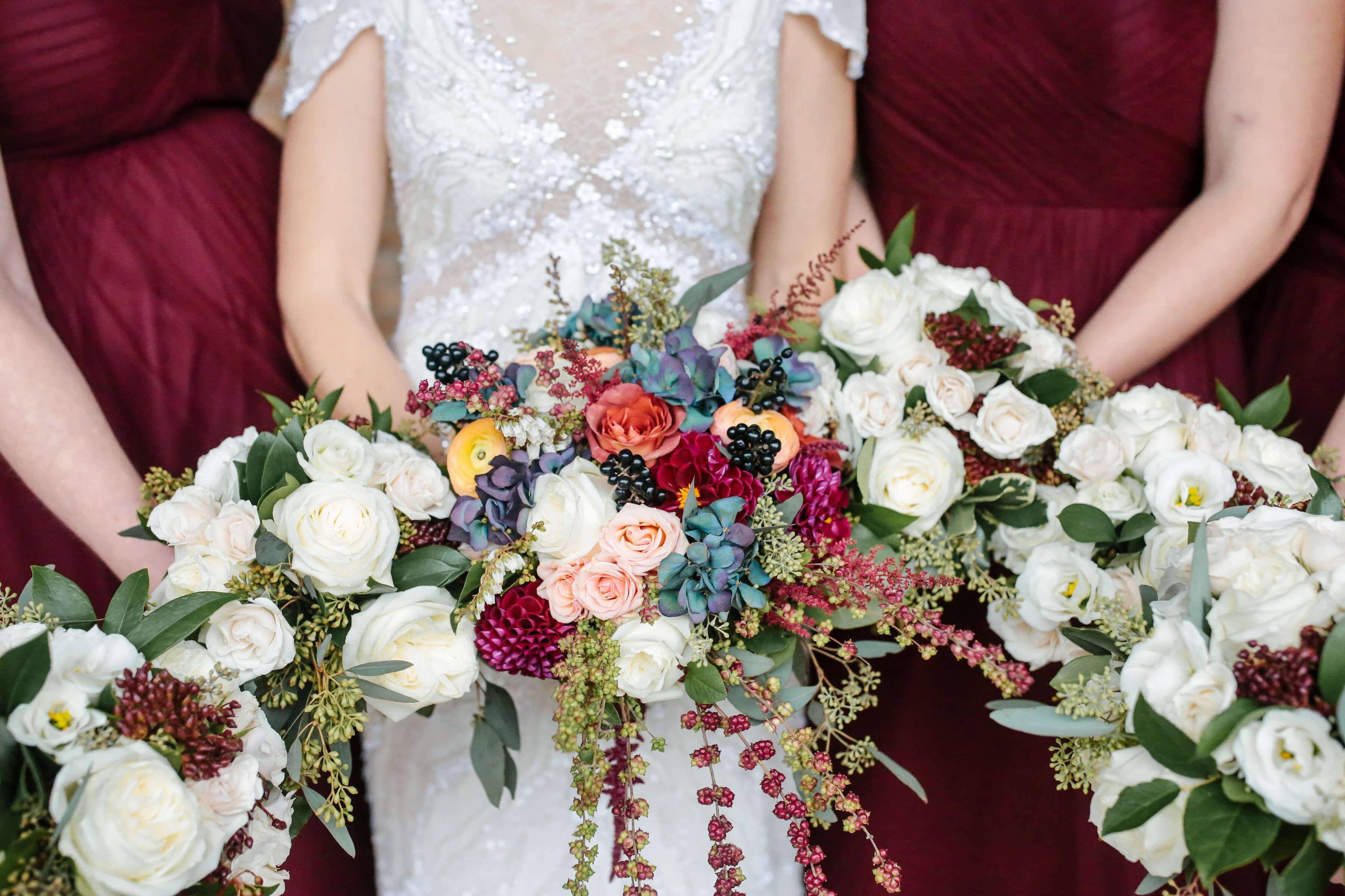 Burgundy Botanic Fall Wedding Nico And Lala
