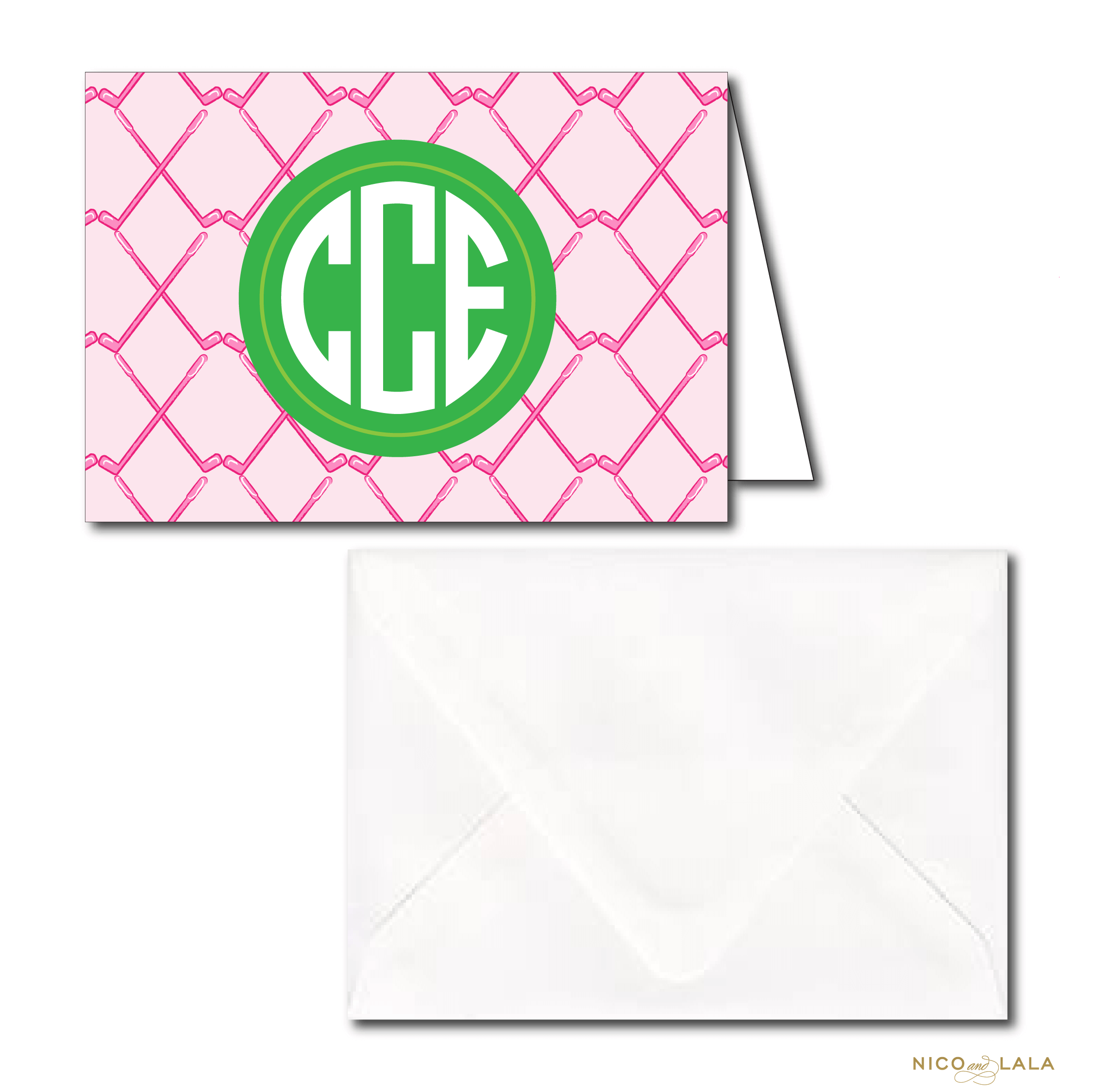 Girly Golf Stationery