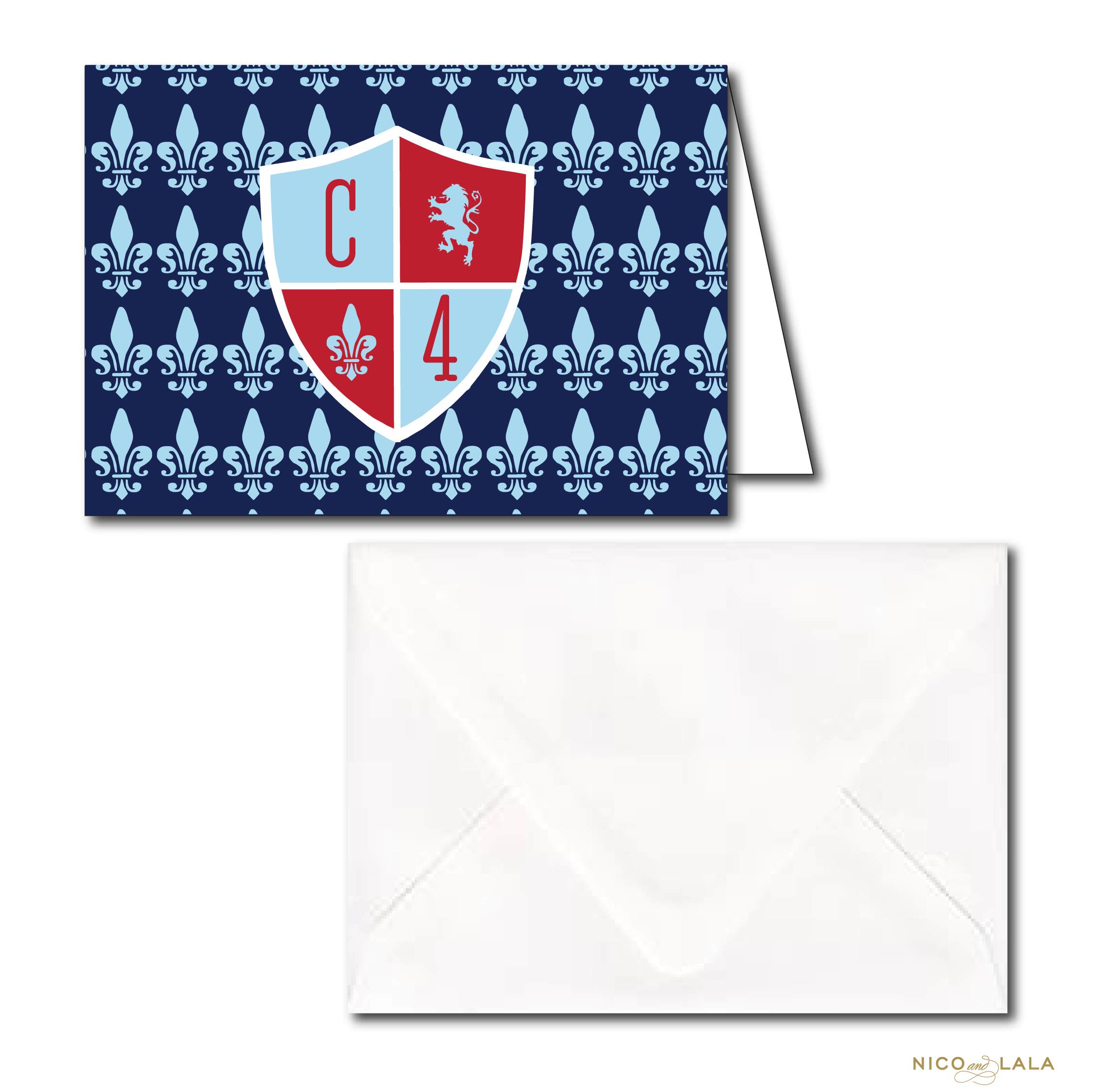 knight birthday stationery