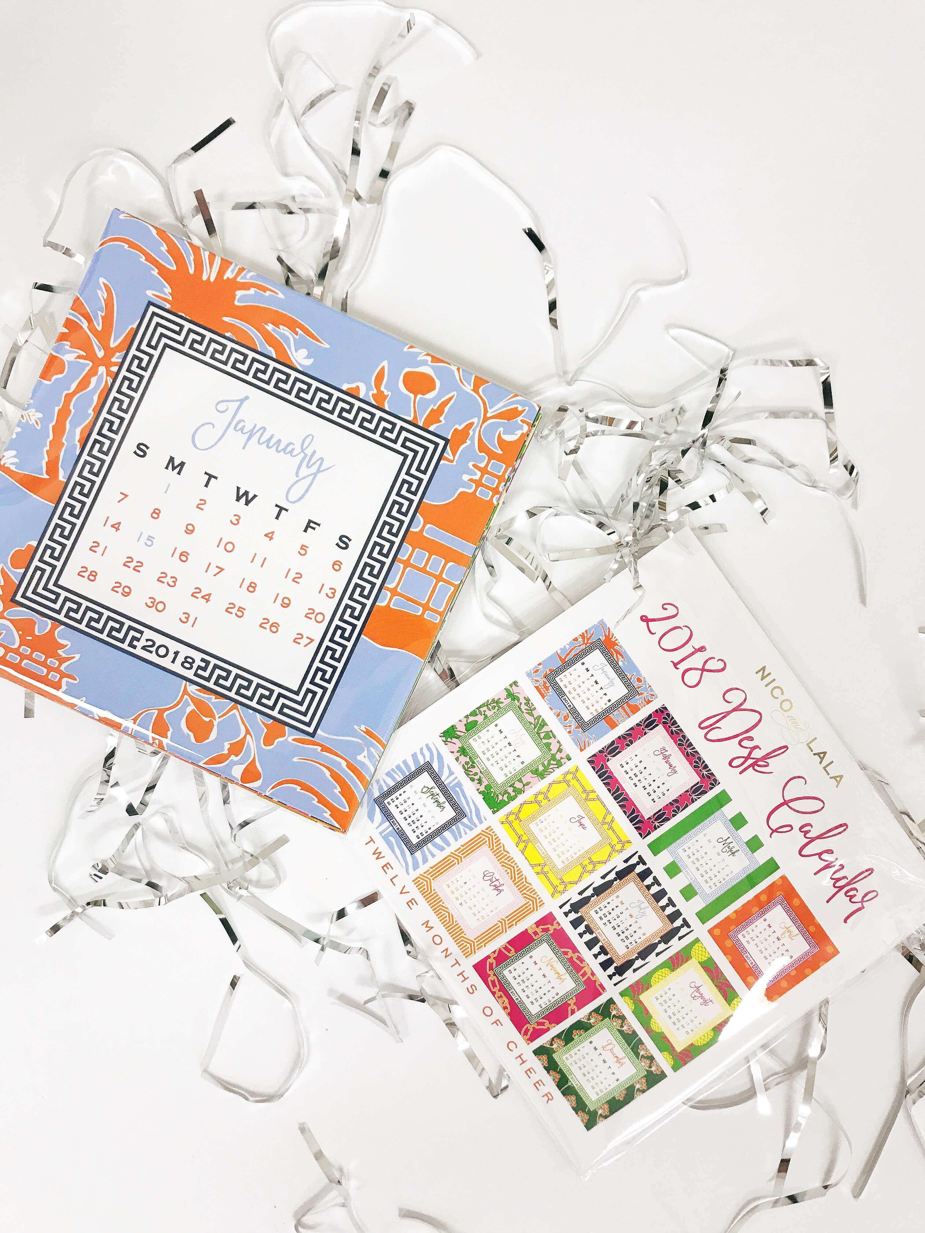 2018 Nico and Lala Desk Calendar