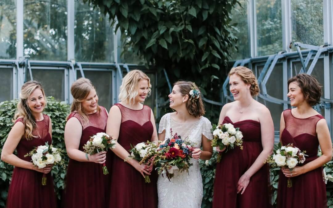 Jewel Tone Fall Wedding
