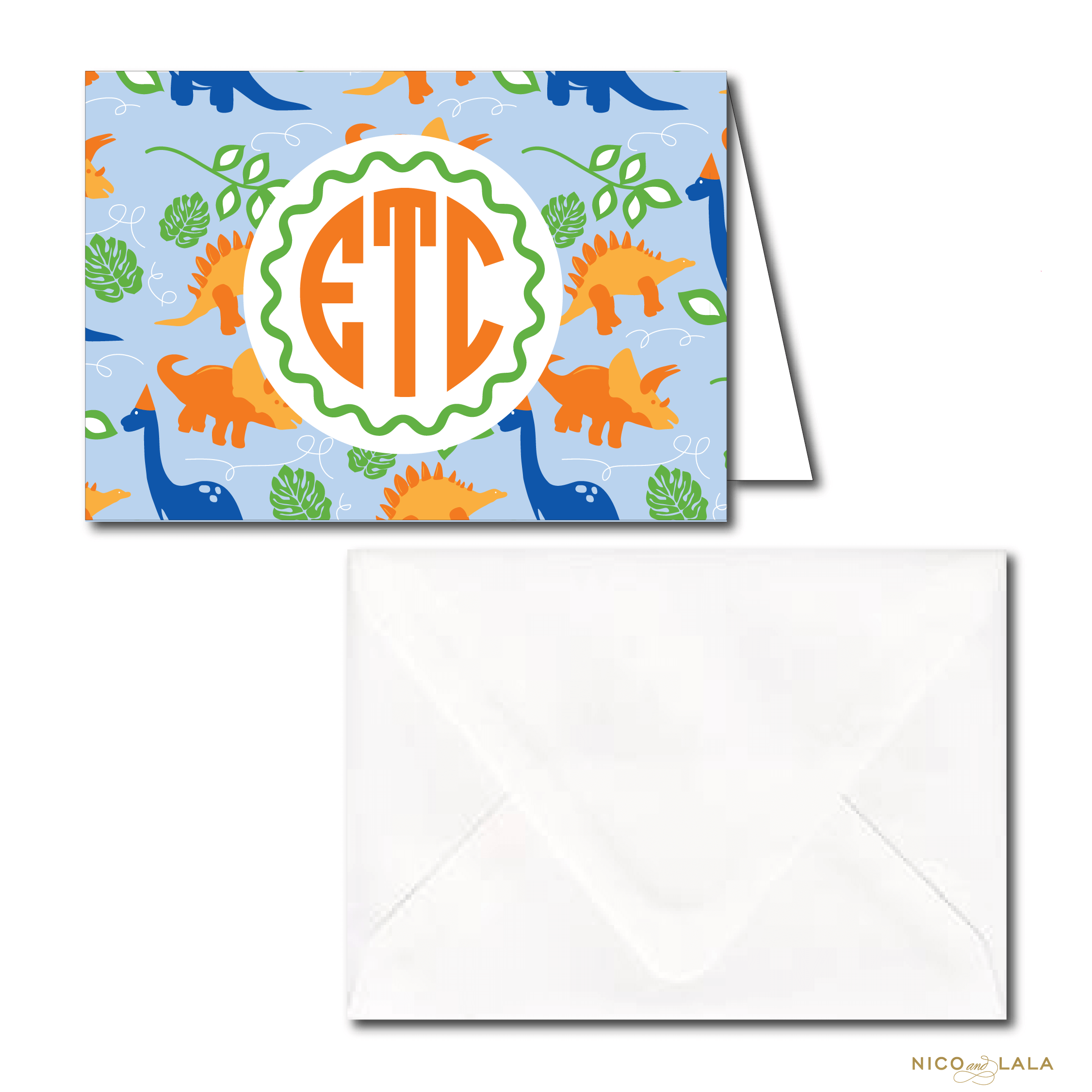 Dinosaur Birthday Stationery