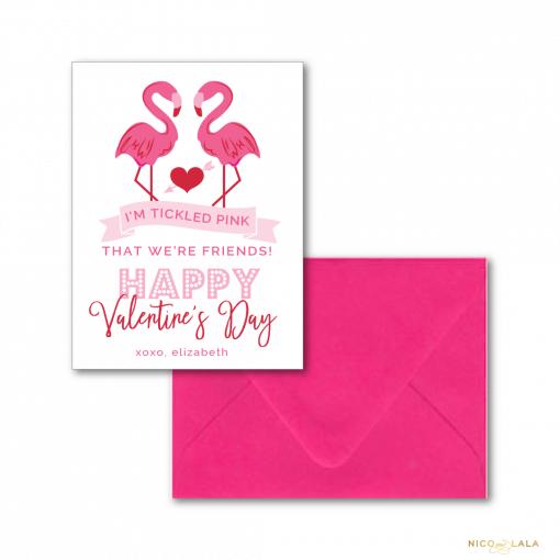 Flamingo Valentine