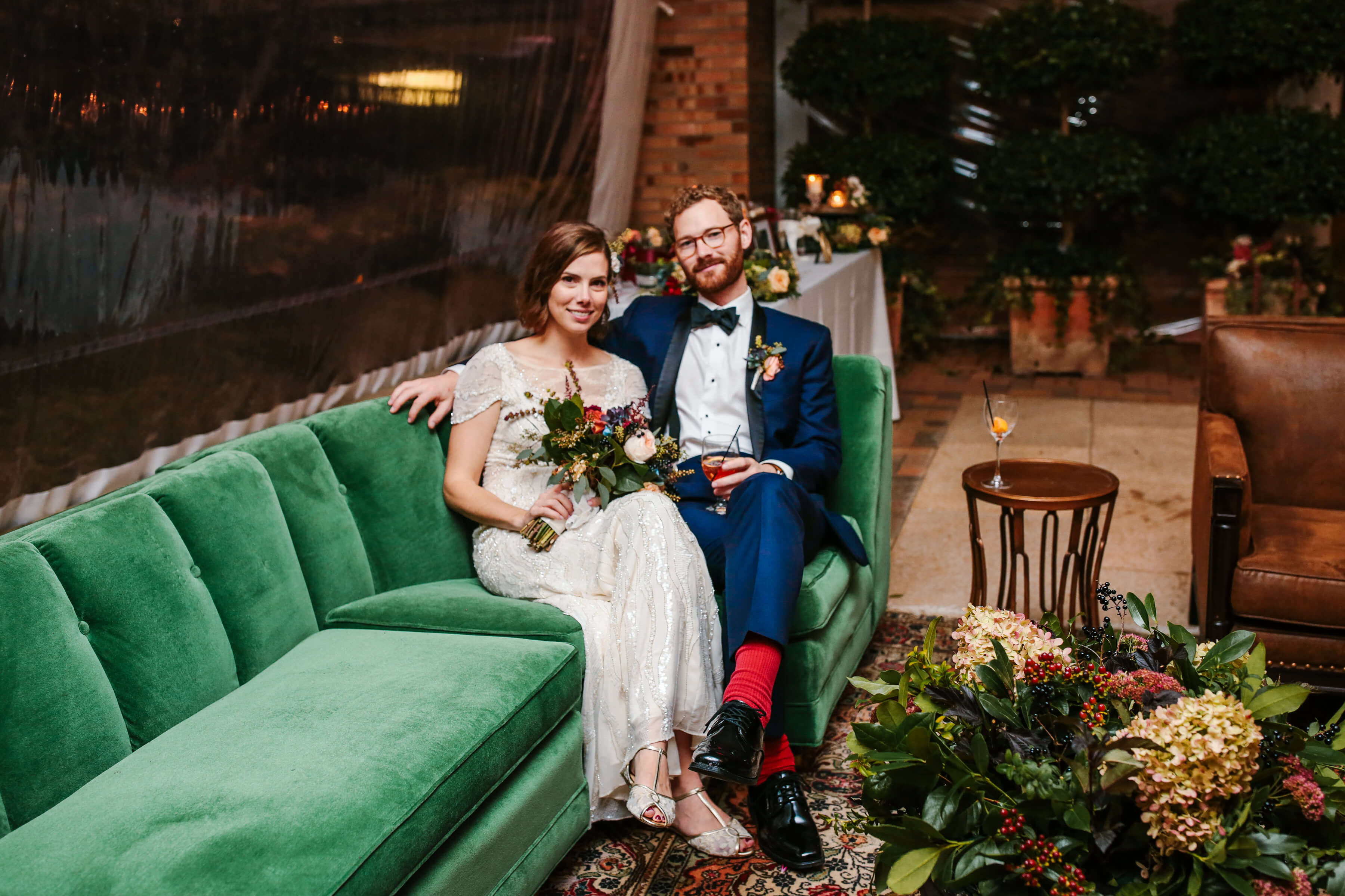 Jewel-Tone-Couch-Fall-Wedding
