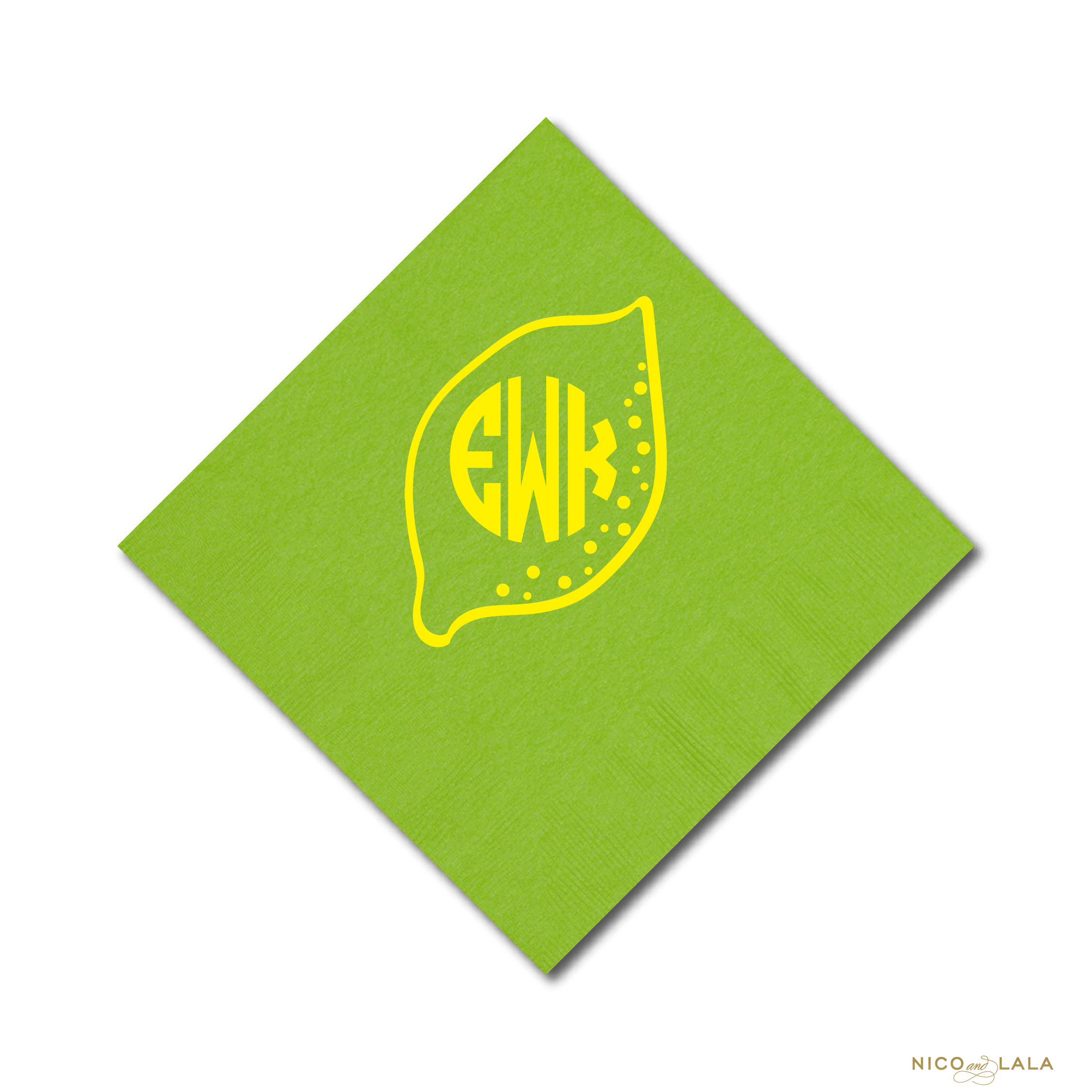 lemonade napkins