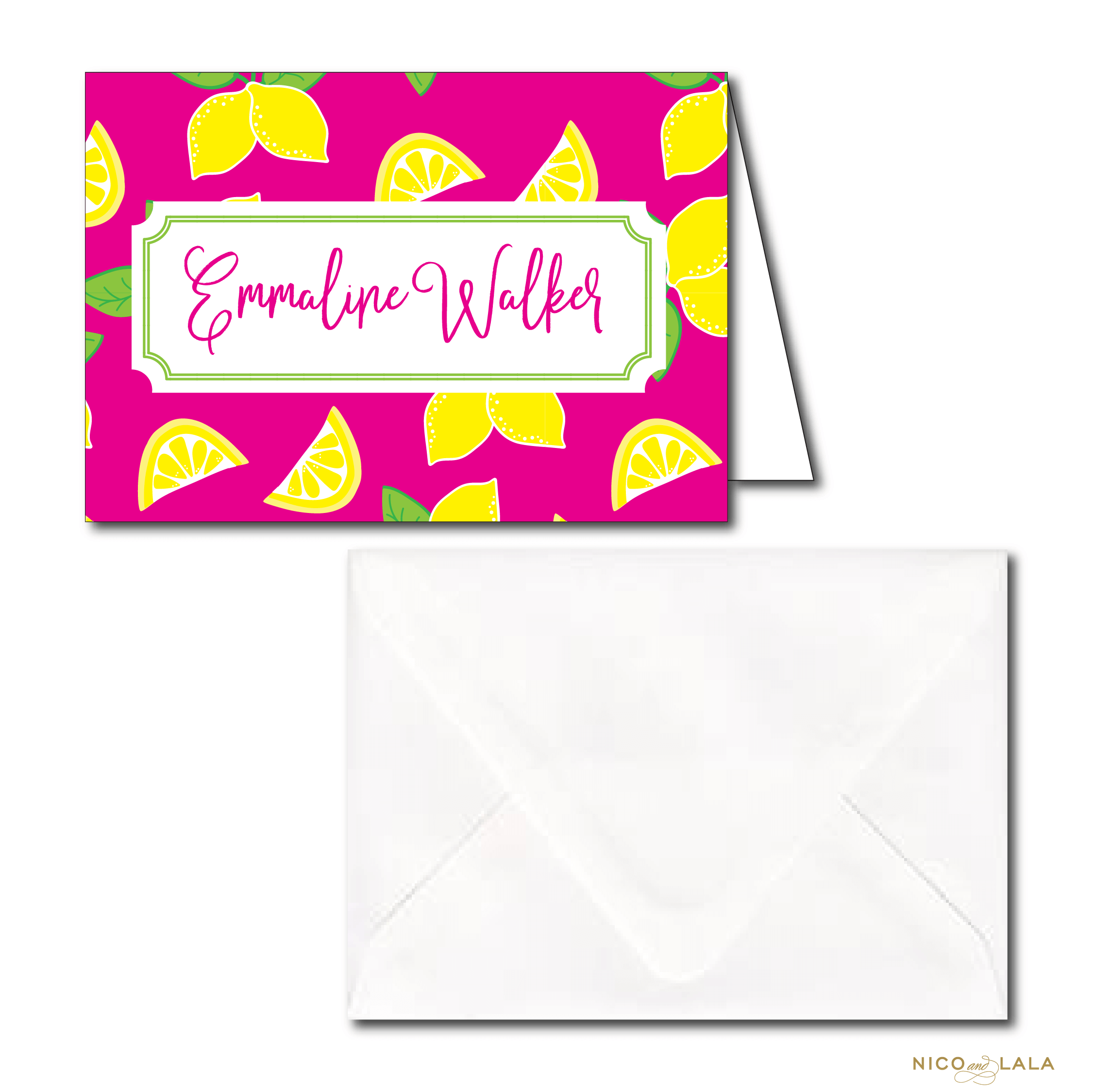 Lemonade stationery
