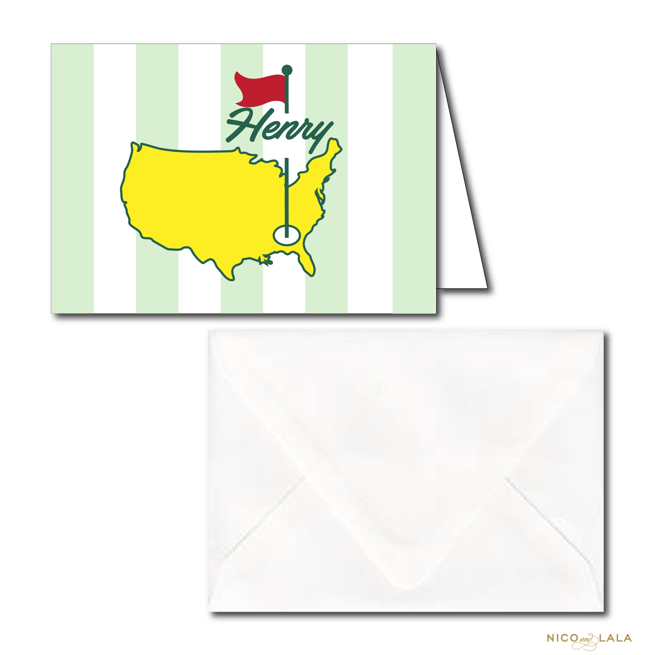 Masters Birthday Stationery