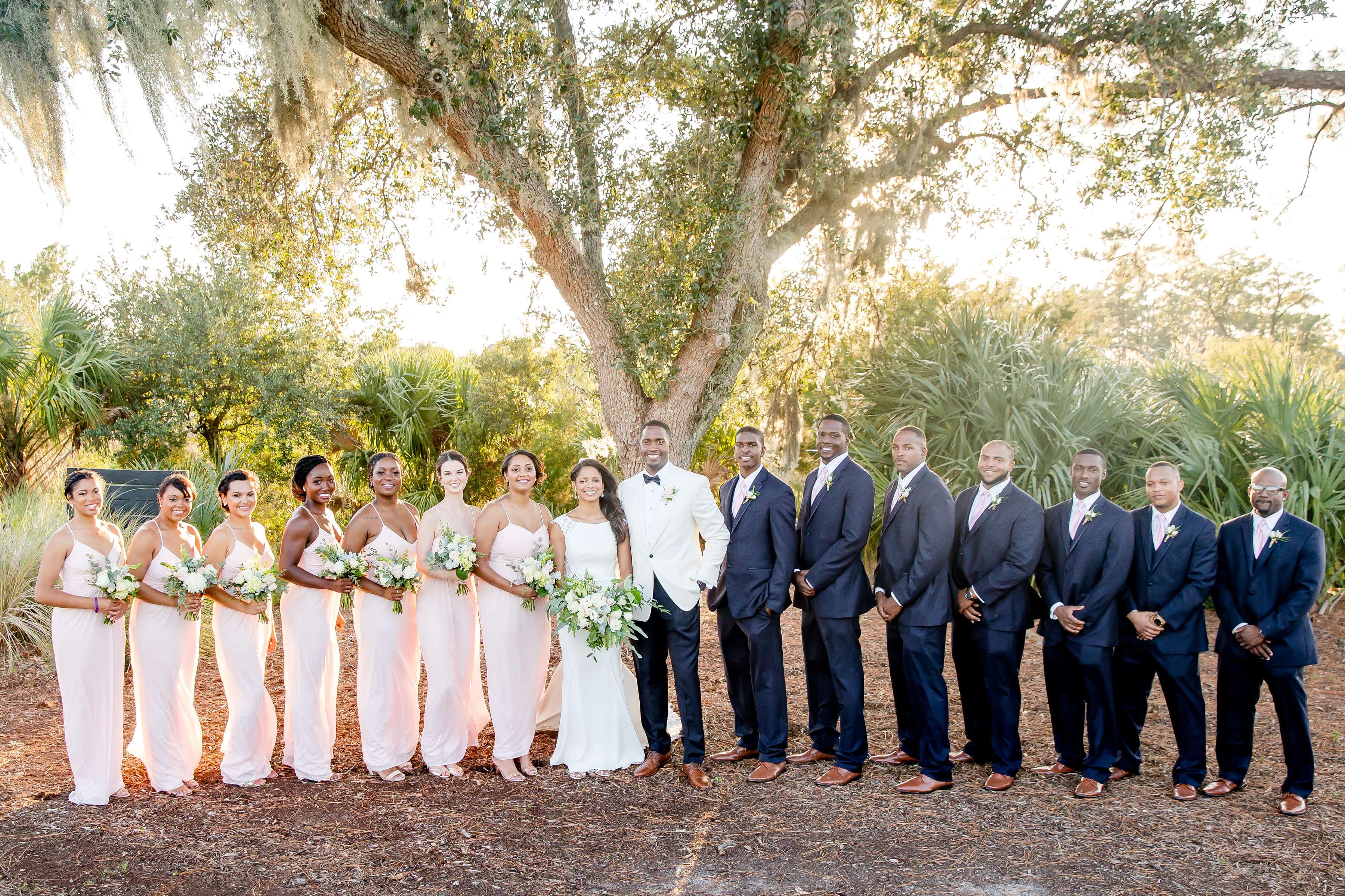 Blush And Navy Charleston Wedding Nico And Lala