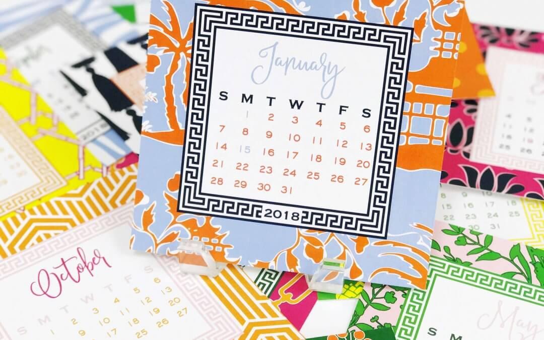 2018 Desk Calendar Sale!