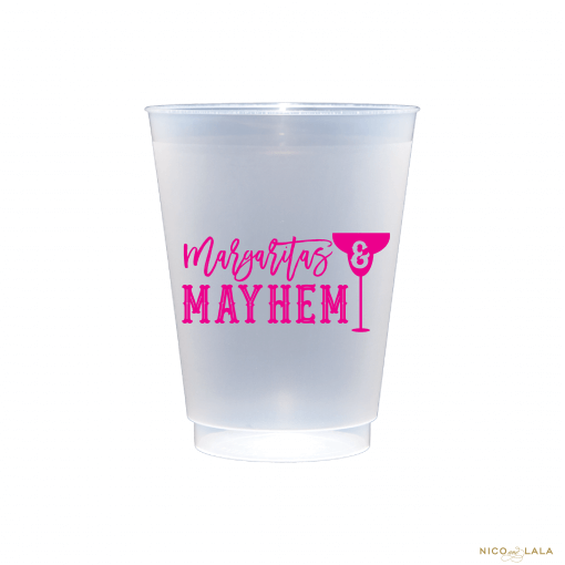 Margaritas and Mayhem Cups