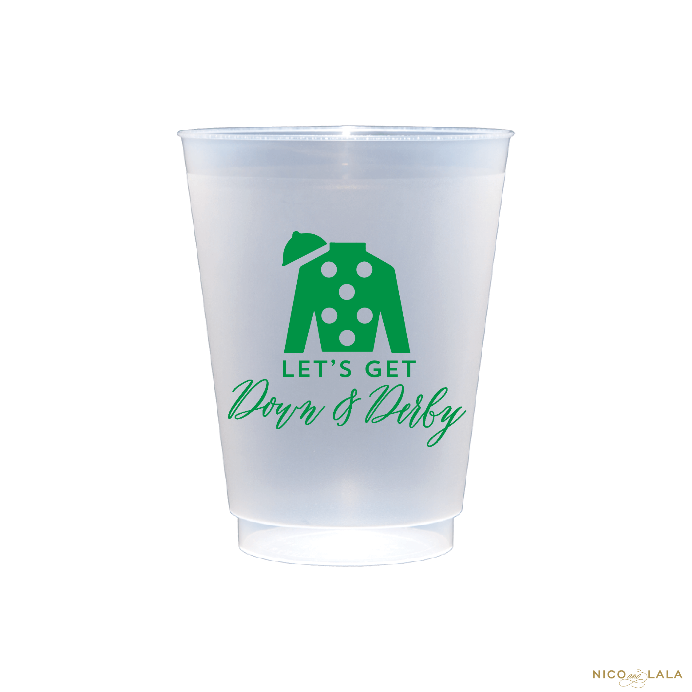 derby party cups