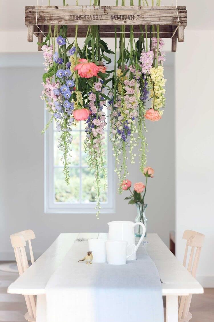 Flower Box Table Display