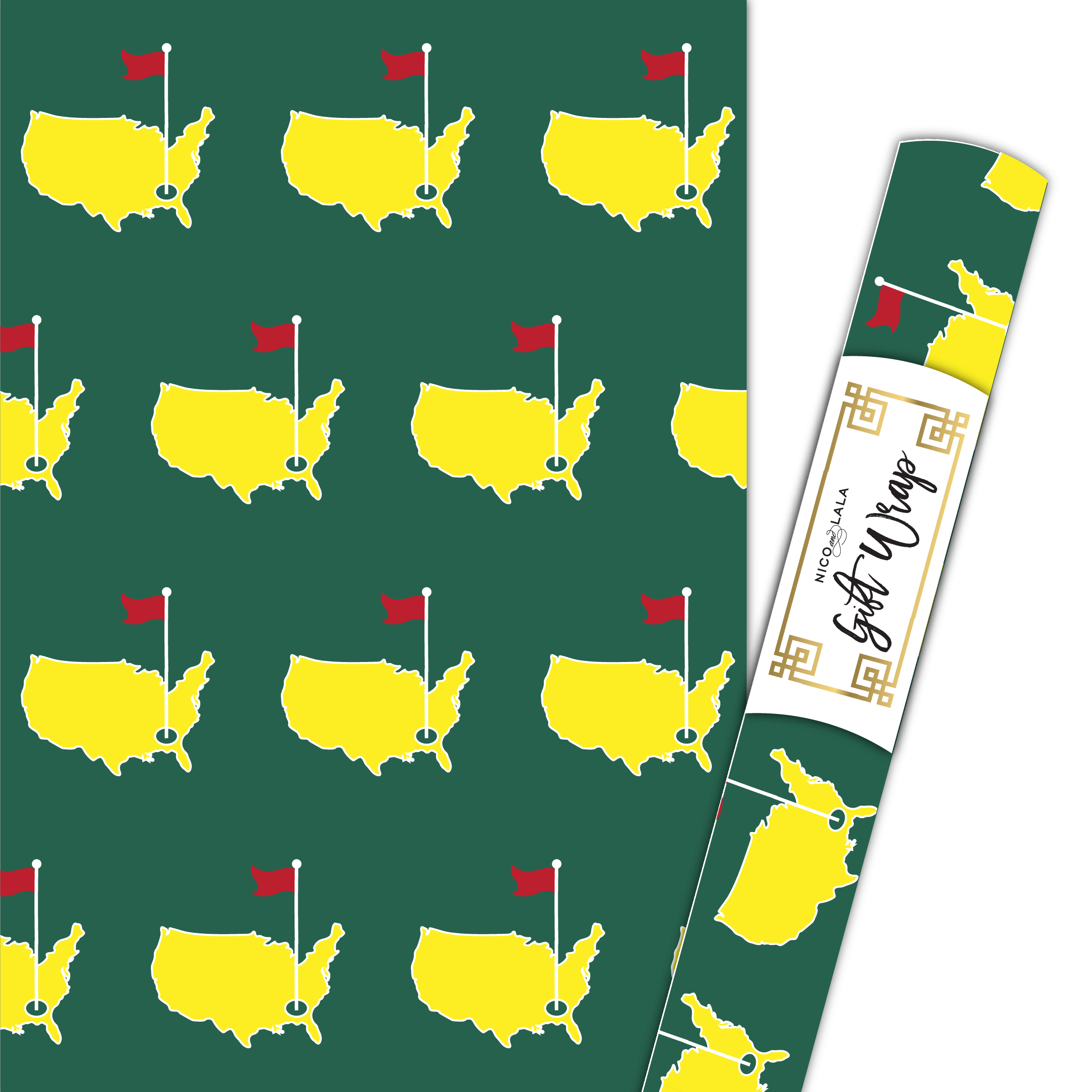 Masters Gift Wrap