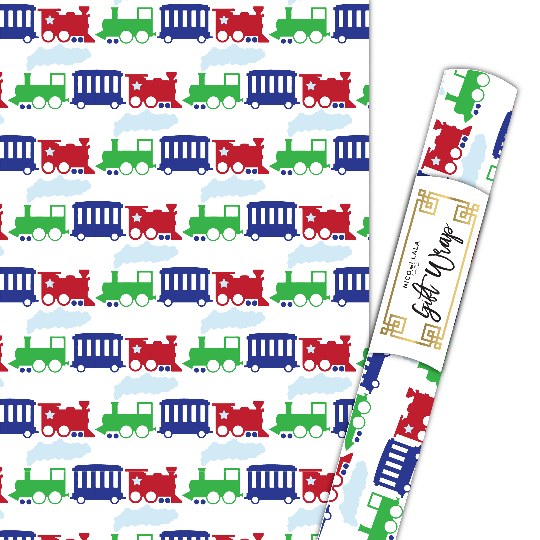 Train Gift Wrap