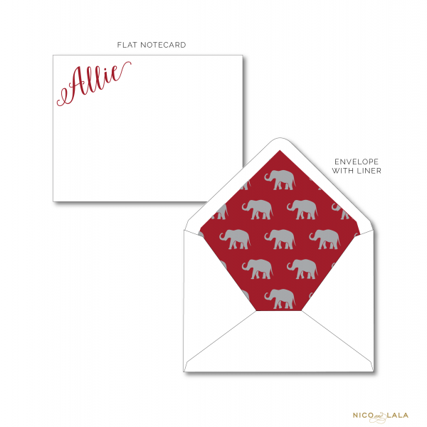 Alabama Crimson Tide Stationery