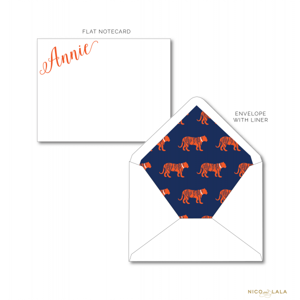 Auburn Tigers Stationery
