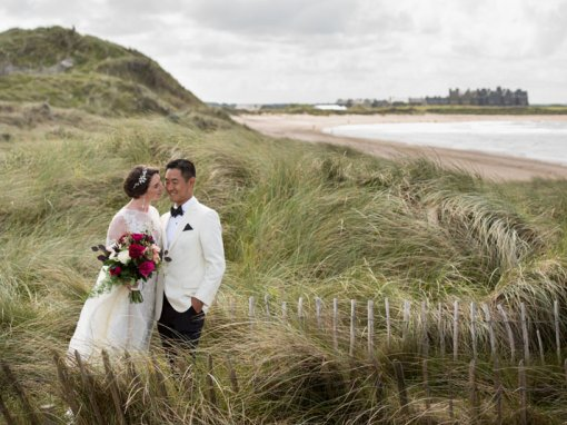 Coast of Ireland Wedding