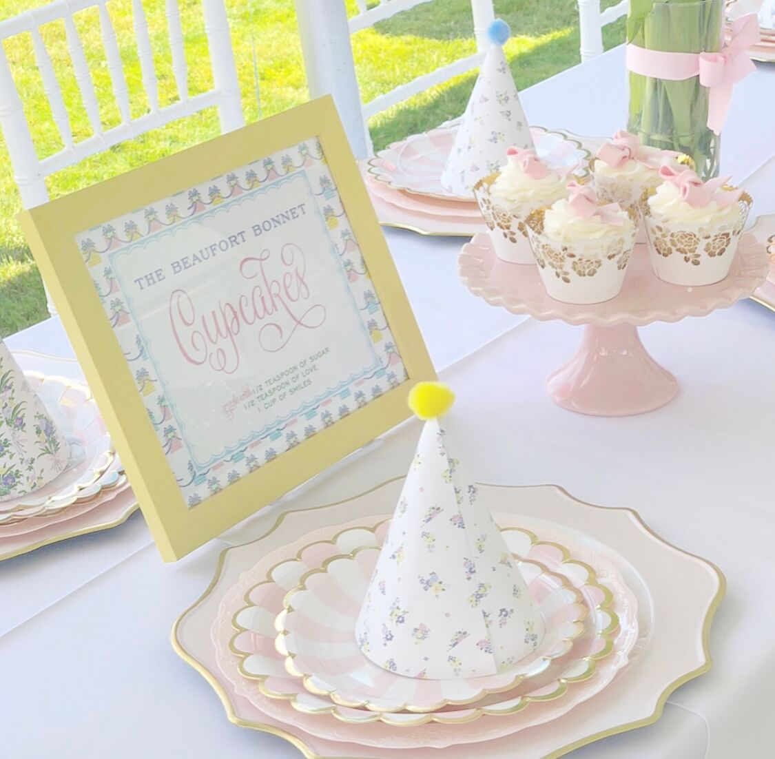 Beaufort Bonnet Company themed birthday