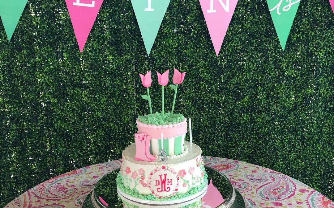Pink and Green Garden Party
