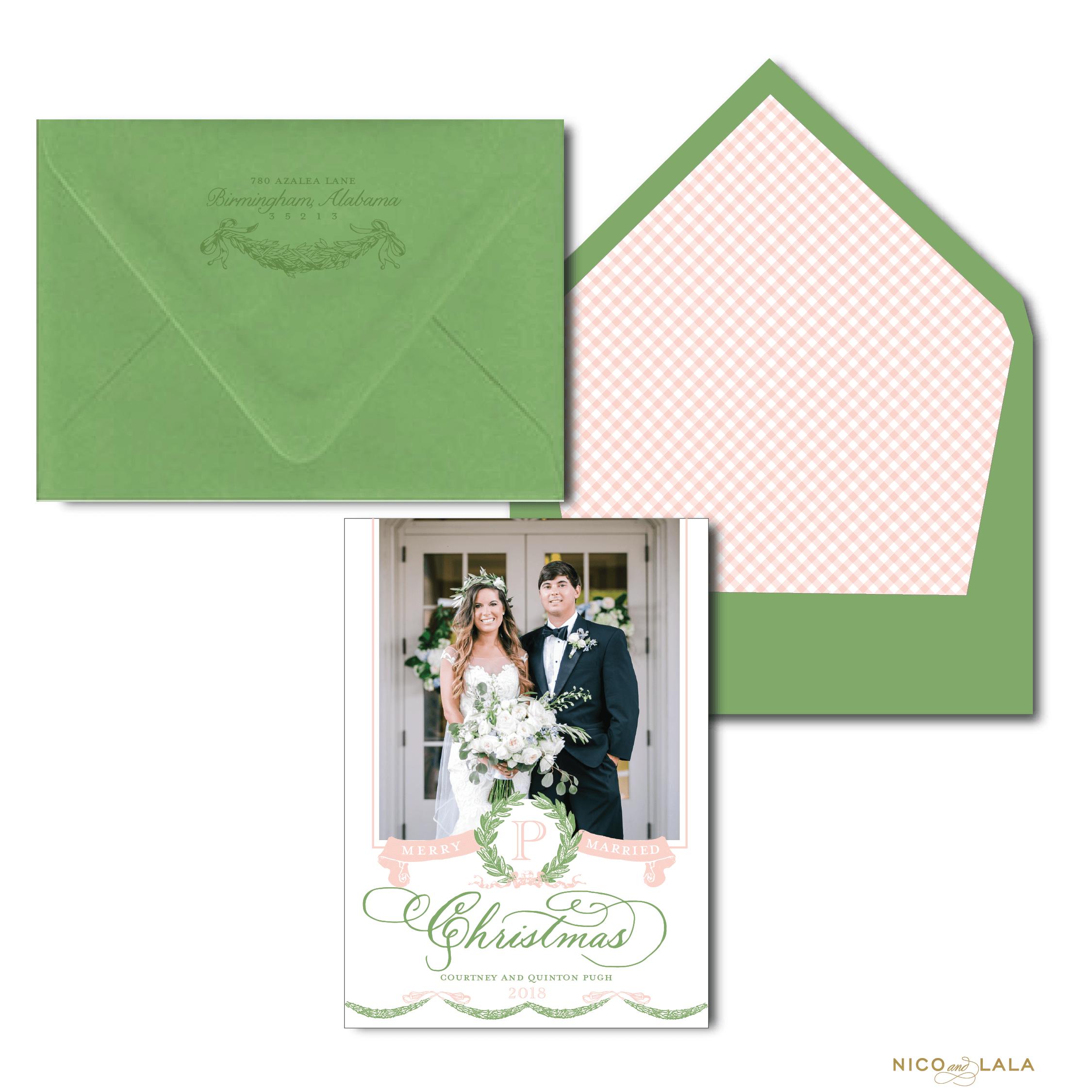 Merry Married Christmas Card ⋆ Nico and Lala