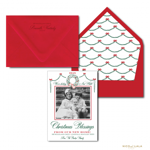 Decking New Halls Moving Christmas Cards