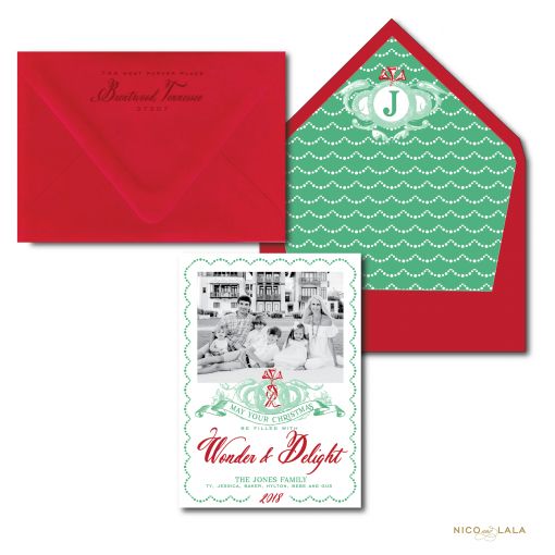 Wonder and Delight Christmas Card